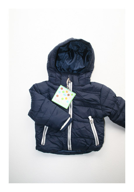 tricky tracks baby winterjacke dunkelblau gr e 68 86 ebay. Black Bedroom Furniture Sets. Home Design Ideas